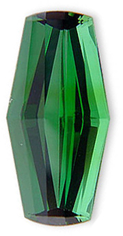 Beautiful USA Fancy Cut Intense Blue Green Tourmaline Namibian Gemstone 12.24 carats
