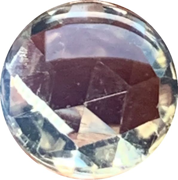 NEW - Blue Sheen Moonstone in Round Cabochon Cut Top and Faceted Bottom in Grade AAA