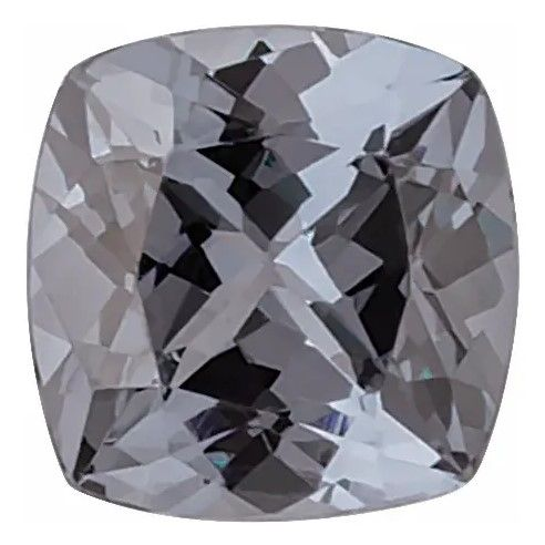 Bluish Grey Spinel Antique Cushion Cut Grade AAA