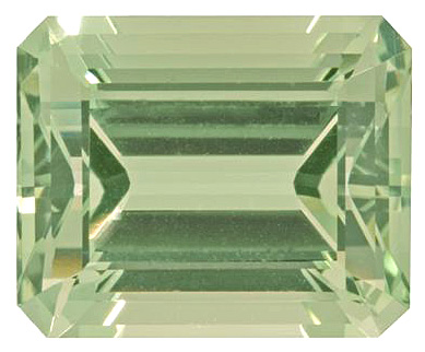 Bright Clean Yellowish Green Beryl Gemstone Emerald Cut, 14.17 carats