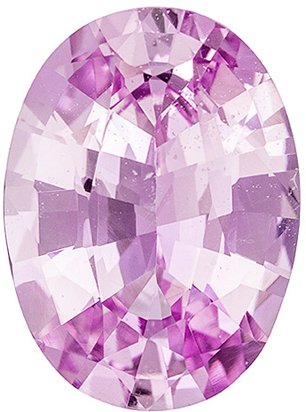 Brilliant Untreated Pink Sapphire Loose Gem in Oval Cut, 12 x 8.8 mm, GIA Cert. 3.99 carats