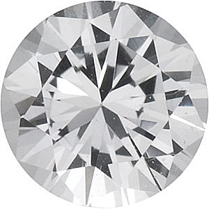 Natural   White Sapphire Round Shape, Grade AAA, 1.75 mm in Size, 0.03 Carats