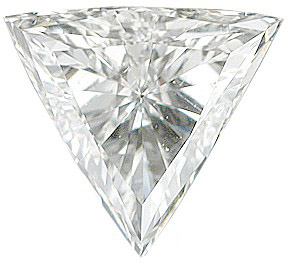 Loose Genuine  Diamond Melee, Triangle Shape, G-H Color - SI1 Clarity, 3.50 mm in Size, 0.13 Carats