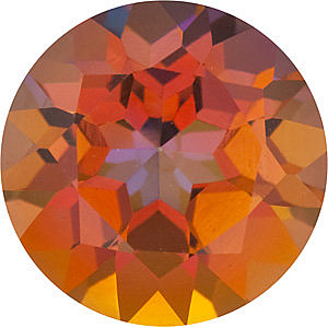 Faceted Loose  Mystic Sunrise Topaz Gem,  Round Shape, Grade AAA, 8.00 mm in Size, 2.5 Carats