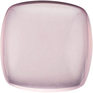 Cabochon Antique Cushion Genuine Rose Quartz in Grade AA
