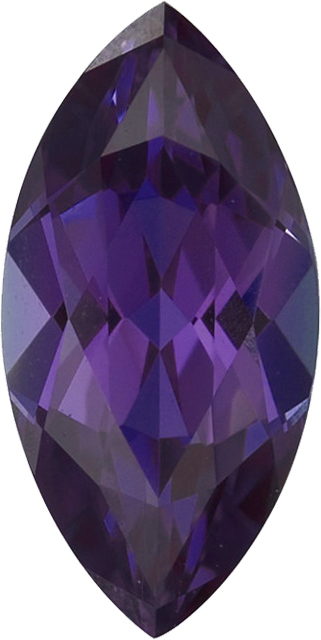 Chatham Lab Alexandrite Marquise Cut in Grade GEM