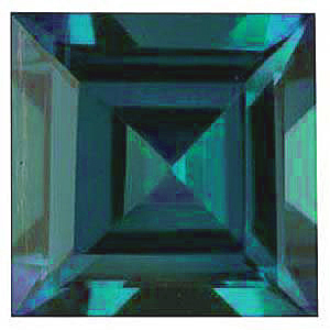 Chatham  Alexandrite Square Step Cut in Grade GEM