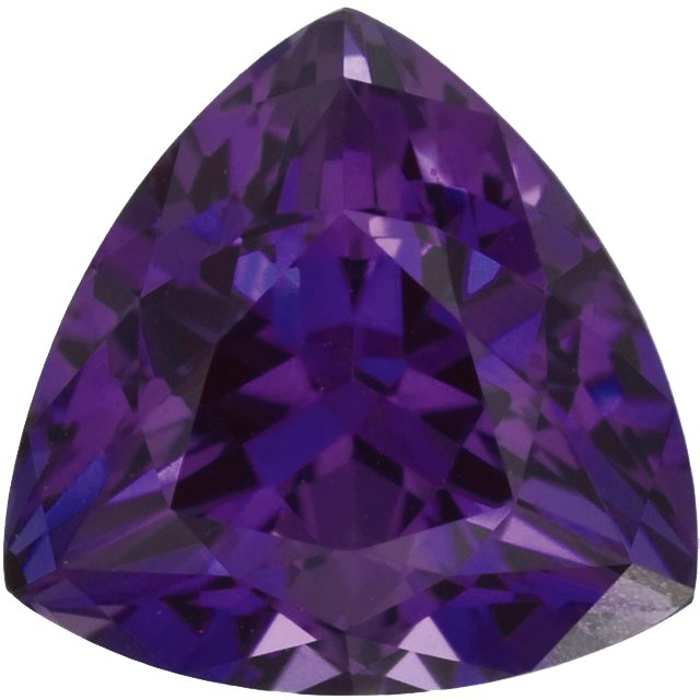 Chatham  Alexandrite Trillion Cut in Grade GEM