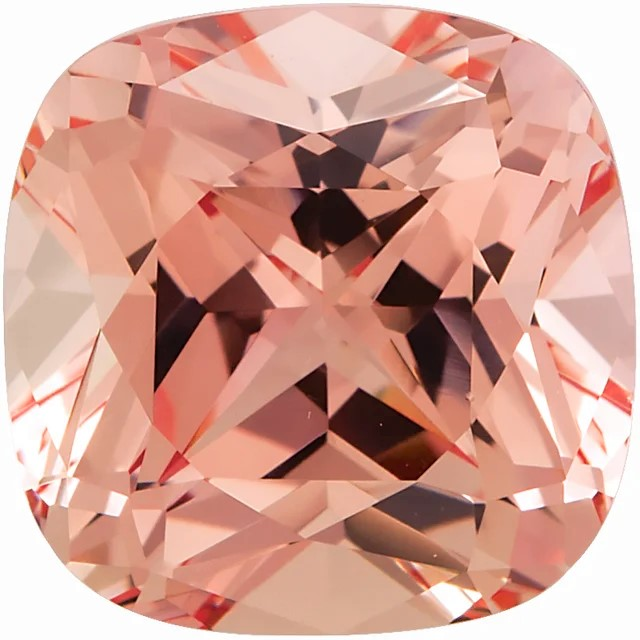 Chatham Champagne Sapphire Antique Square Cut  in Grade GEM
