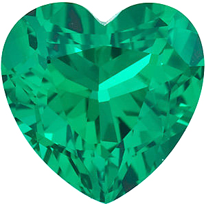 Chatham  Emerald Heart Cut in Grade GEM