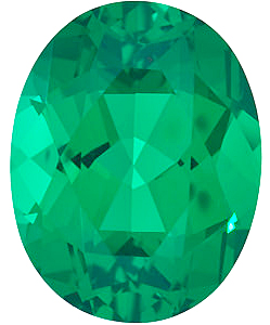 Chatham  Emerald Oval Cut in Grade GEM