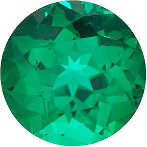 Chatham  Emerald Round Cut in Grade GEM