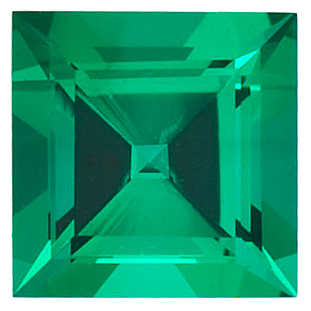Chatham  Emerald Square Step Cut in Grade GEM