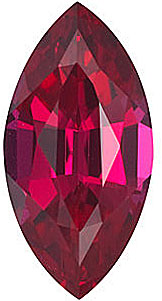 Chatham  Ruby Marquise Cut in Grade GEM