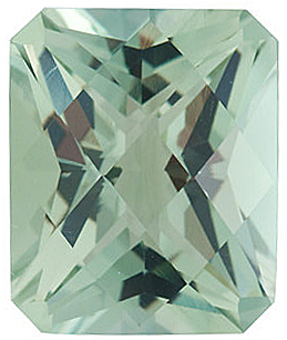 Checkerboard Emerald Genuine Green Quartz in Grade AA