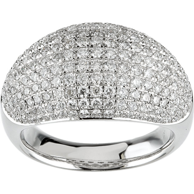 Classic Pave Dome Ring