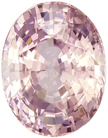 Collector Padparadscha Sapphire, 6.53 carats Unheated with GIA Certificate, Bright, Well Cut Super Gem, 12.22 x 9.53 x 6.89 mm, 6.53 carats