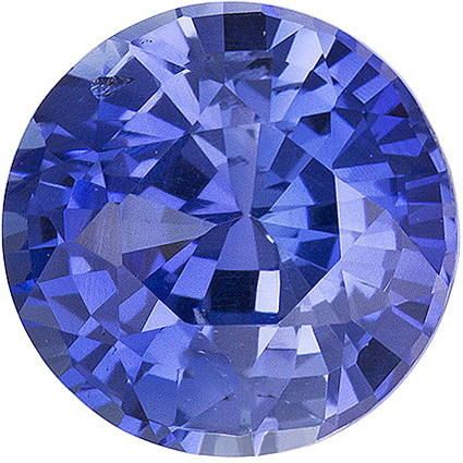 Cornflower Blue No Heat Ceylon Sapphire - Bright Stone, Round Cut, 7.19mm, 1.78 carats - With GIA Certificate