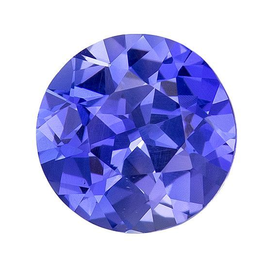 Cornflower Blue No Heat Ceylon Sapphire - Super Bright Stone, Round Cut, 7.2 mm, 1.61 carats - With GIA Certificate
