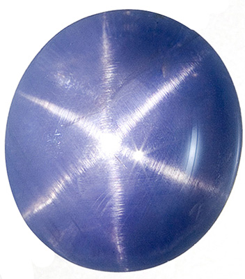Cornflower Blue  No Heat Ceylon Star Sapphire - Strong 6 Ray Star, Oval Cut, 10.7 carats