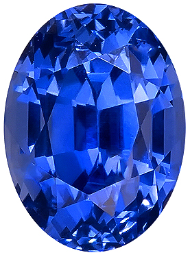 Crystal GEM Ceylon Fine Unheated Sapphire Genuine Gem, AGTA Cert, Oval Cut, 3.94 carats