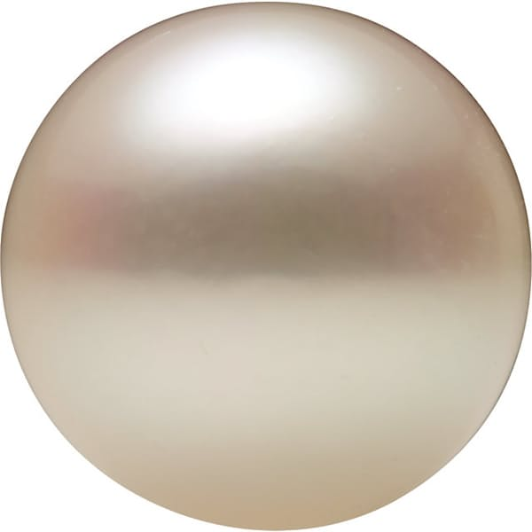 Round Shape Half Drilled Akoya Cultured Pearl Grade AA, 8.50 mm in Size