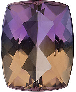 Cushion Cut Ametrine Gemstones in Grade AAA