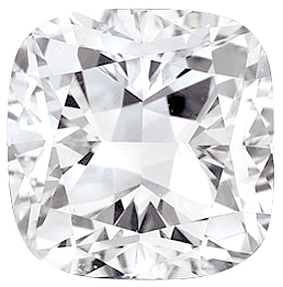 Cushion Cut Genuine Diamond GH VS Quality