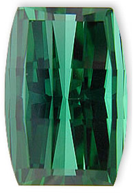 Custom Cut Gorgeous Blue Green Tourmaline Namibian Origin Gemstone 23.19 carats