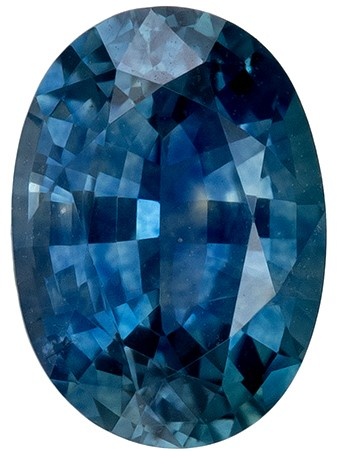 Deal on  Blue Green Sapphire Genuine Gemstone, 1.05 carats, Oval Shape, 6.9 x 4.9 mm