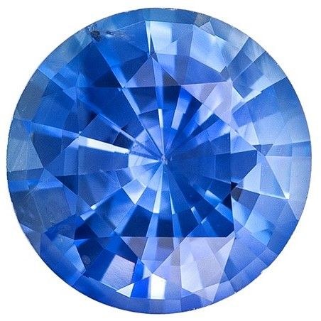 Deal on Blue Sapphire Round Shaped Gemstone, 0.86 carats, 5.9mm - Super Great Buy