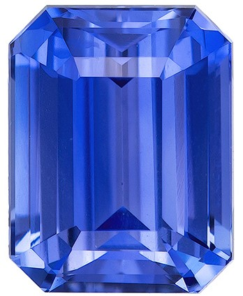 Deal on  Octagon  Cut Beautiful Blue Sapphire Loose Gemstone, 2.11 carats, 7.6 x 5.9 mm , Perfect Ring Stone