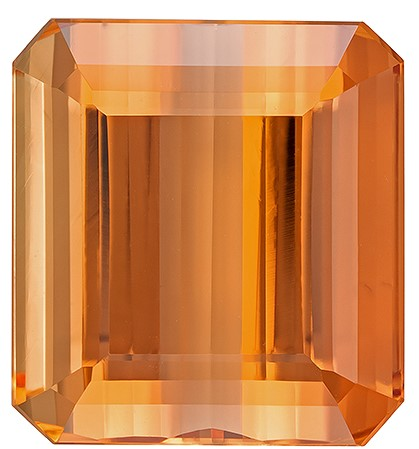 Deal on  Octagon Cut Gorgeous Imperial Topaz Gemstone, 18.89 carats, 14.6 x 13.4 mm , Super Gemmy