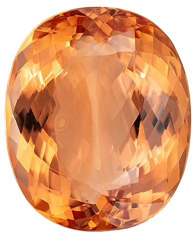 Deal on  Oval Cut Beautiful Imperial Topaz Gemstone, 14.95 carats, 15.9 x 13.3 mm , Perfect Ring Stone