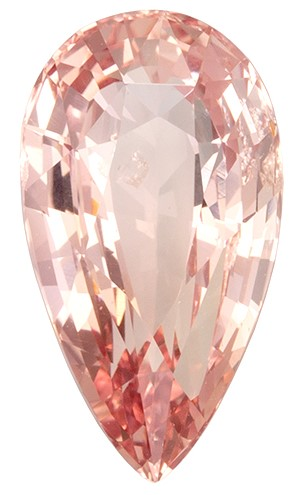 Deal on  Padparadscha Sapphire Genuine Gemstone, 2.68 carats, Pear Shape, 11.12 x 6.19 x 4.78 mm  with  Certificate