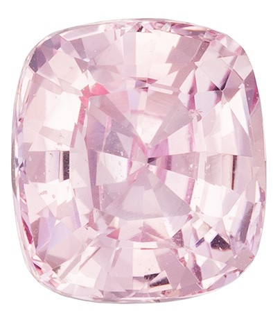 Deal on  Peach Sapphire Genuine Gemstone, 1.05 carats, Cushion Shape, 5.91 x 5.33 x 3.57 mm  with GIA Certificate