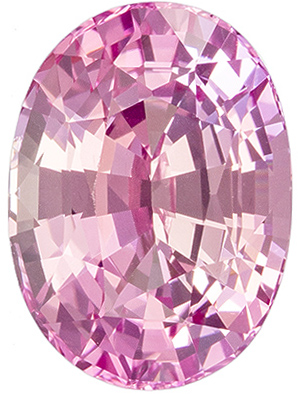 Delicate Baby Pink Sapphire Oval Cut, 4.07 carats, 10.5 x 7.7 mm, Great Price Super Gem