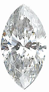 Shop For Diamond Melee, Marquise Shape, G-H Color - I1 Clarity, 6.00 x 3.50 mm in Size, 0.33 Carats