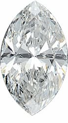 Loose Diamond Melee, Marquise Shape, G-H Color - SI2/SI3 Clarity, 3.00 x 1.50 mm in Size, 0.04 Carats