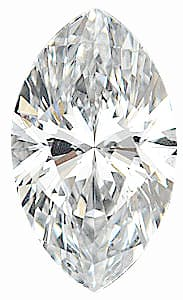 Loose Diamond Melee, Marquise Shape, G-H Color - VS Clarity, 6.00 x 3.00 mm in Size, 0.25 Carats