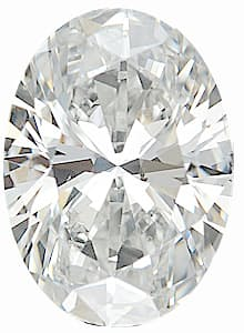 Loose Gem  Diamond Melee, Oval Shape, G-H Color - SI1 Clarity, 5.00 x 4.00 mm in Size, 0.33 Carats