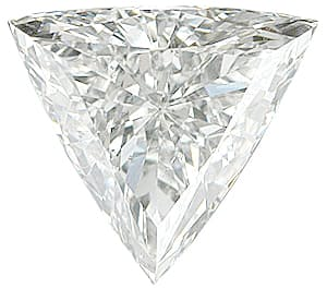 Genuine Diamond Melee, Triangle Shape, G-H Color - SI2/SI3 Clarity, 5.00 mm in Size, 0.34 Carats