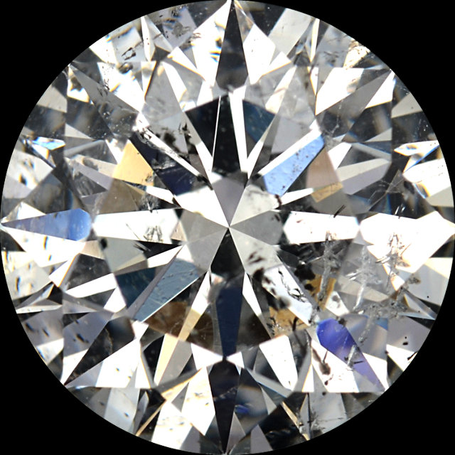 Diamonds G-H Color Round Cut - Value Quality Grade 3 in I1 Clarity