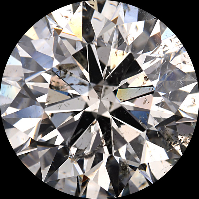 Diamonds G-H Color Round Cut - Value Quality Grade 2 in SI Clarity