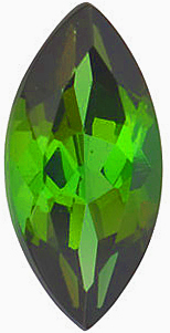 Discount Green Tourmaline Stone, Marquise Shape, Grade AAA, 10.00 x 5.00 mm in Size, 1.1 Carats