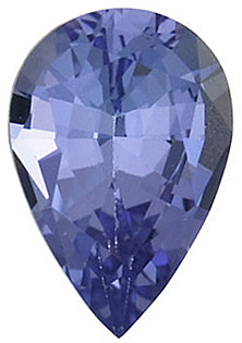 Discount Tanzanite Gemstone, Pear Shape, Grade AA, 7.00 x 5.00 mm in Size, 0.72 Carats