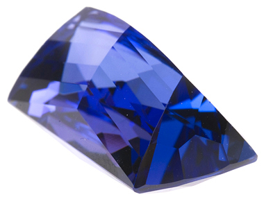 Distinctive Cut NaturalTanzanite Gemstone 13.68 carats, Perfect for that one of a kind custom piece of Jewelry