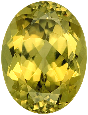 Distinctive Natural Mali Grossular Garnet Loose Gemstone - Fine Color, Good Looking Gem! Oval Cut, 12.09 carats