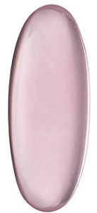 Elongated Oval Shape Cabochon Rose Quartz High Quality Natural Faceted Gem Grade AA, 25.00 x 10.00 mm in Size
