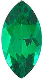 Genuine Loose Emerald Gemstone, Marquise Shape, Grade AAA, 5.00 x 3.00 mm in Size, 0.18 Carats